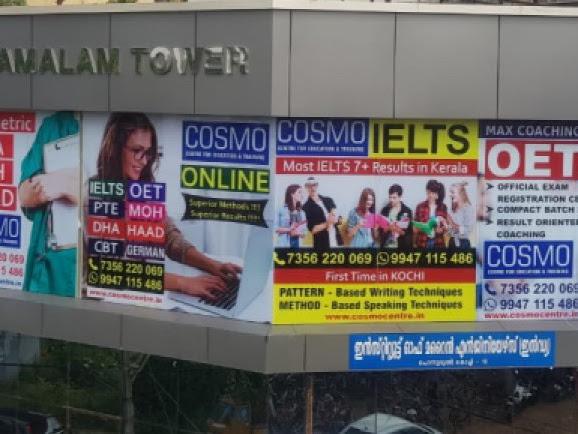 Best IELTS Coaching Centre Kochi | COSMO IELTS & OET