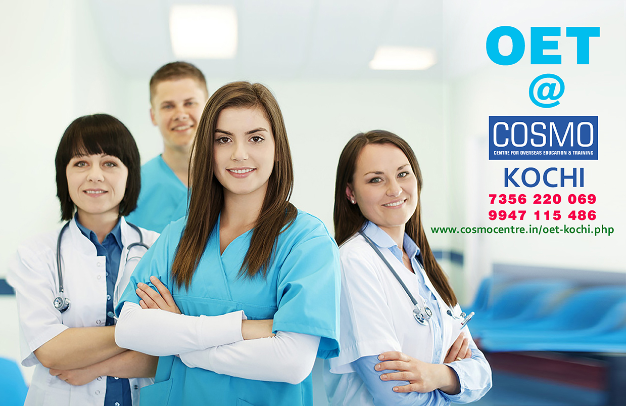 OET Kochi @ COSMO - Best OET Training / Coaching in